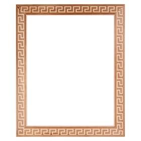 Рама для зеркал и картин, дерево, 50 х 70 х 5.0 см, липа, «Античность», горячее тиснение