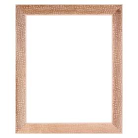 Рама для зеркал и картин, дерево, 50 х 70 х 5.0 см, липа, «Питон», горячее тиснение