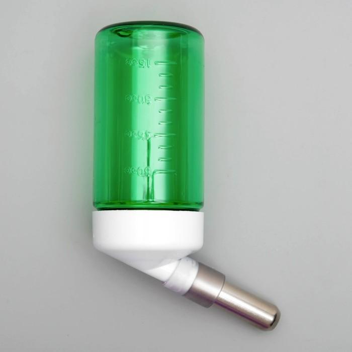 """Поилка DRINKY L185 """"Шарик"""" для грызунов на крючках, 75 мл, микс цветов"""