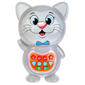 Игрушка «Развивающий кот-сказочник», световые и звуковые эффекты