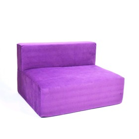 Диван - модуль «Тетрис», размер 100 х 80 см, фиолетовый, велюр