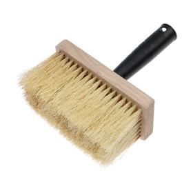 Ceiling brush, LOM, 150х70х16 mm, 102 beam, natural bristle, plastic handle, beech
