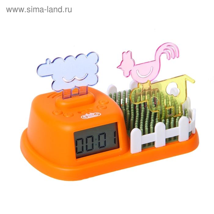 """Часы-будильник """"Веселая ферма"""""""