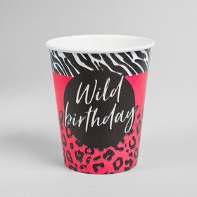 "Glass paper ""Wild Birthday"", 250 ml"