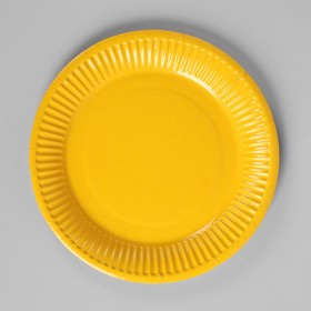 Plate, paper, monochrome, color yellow