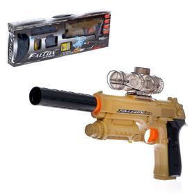 Автоматический пистолет Falcon M92, стреляет гелевыми пулями, работает от аккумулятора