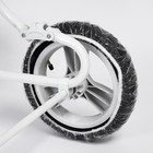 Чехлы на колеса коляски, d=32 см., 3 шт., ПВД - фото 105546346