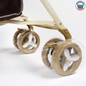 Чехлы на колеса коляски, d=16 см., 4 шт., ПВД Ош