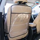 Защитная накидка на спинку сидения автомобиля, 60х40, ПВХ, 2 кармана
