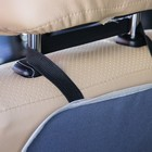 Защитная накидка на спинку сидения автомобиля, 38х55, оксфорд, цвет серый - фото 105547525