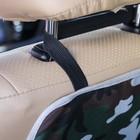 Защитная накидка на спинку сиденья автомобиля, 38х55, оксфорд, цвет камуфляж - фото 105547531