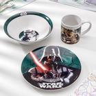 Набор посуды «Звездные Войны. Реальность», 3 предмета