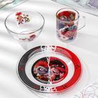 Набор посуды «Тролли 2. Рок», 3 предмета - фото 490186
