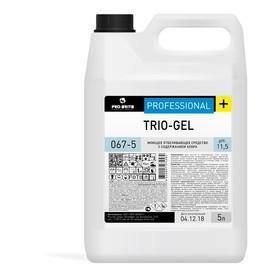 Моющее средство Trio-gel с хлором, 5л