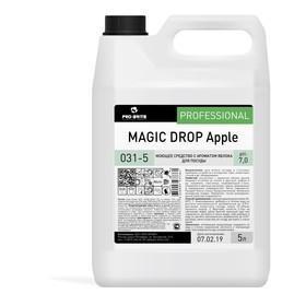 Моющее средство с ароматом яблока для посуды Magic Drop class Е Apple, 5л