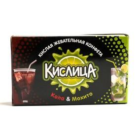 Жевательная конфета КИСЛИЦА 18г/кола,мохито/SweetStar