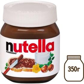 Паста шоколадно-ореховая NUTELLA 350г/с какао