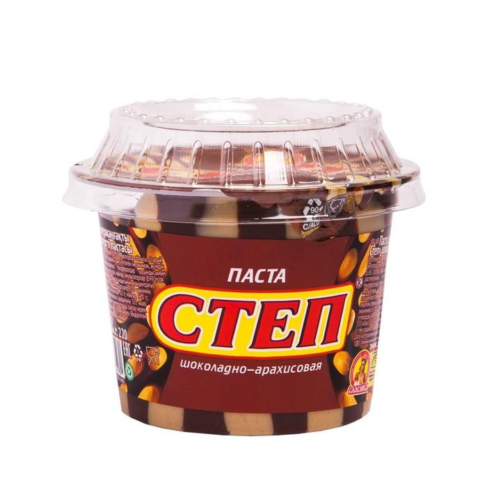 Шоколадно-арахисовая паста Золотой Степ 220г