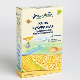 Каша Fleur Alpine безмолочная кукурузная с пребиотиками 175г