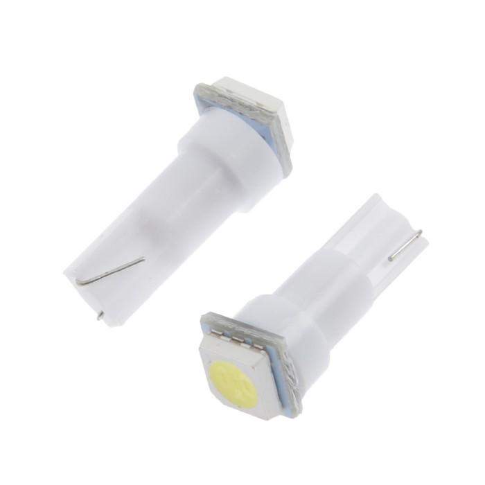 Лампа светодиодная габаритная C2R T5A-1SMD-5050 (white)