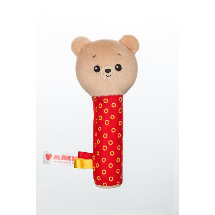 Игрушка на палочке «Мишка Барни», пищалка - фото 105529053