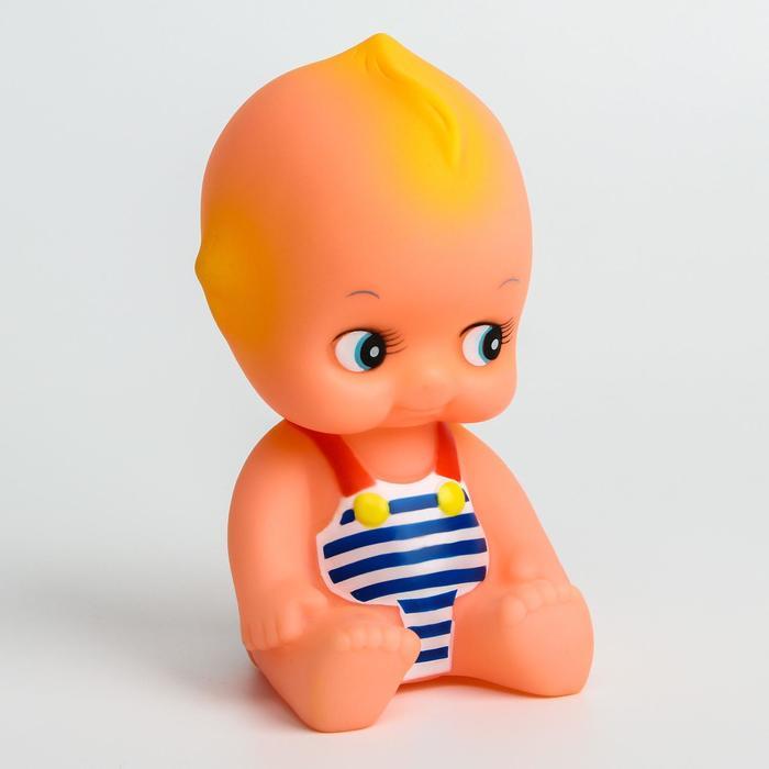 Игрушка для купания «Женечка», с пищалкой