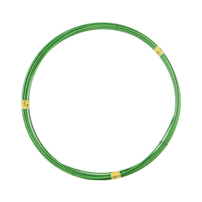 Арматура стеклопластиковая композитная 10 мм бухта 50 м зеленая