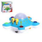 Toy Octopus, light and sound effects, MIX colors