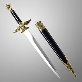 Сув-ое оружие кортик ножны металл золотой орел в виде упора рукояти огранка на ножнах 39 см
