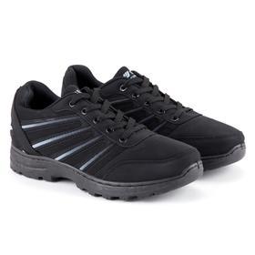 Кроссовки мужские, цвет чёрный, размер 42