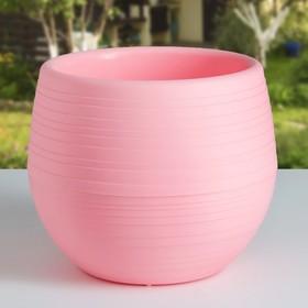 Горшок для цветов «Япония» 1,2 л, цвет розовый