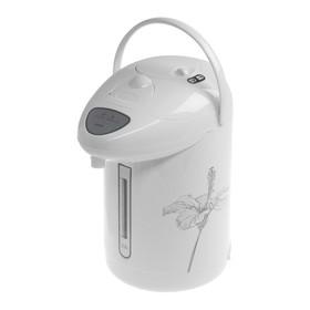 Термопот HOMESTAR HS-5001, 2.5 л, 750 Вт, бело-серый
