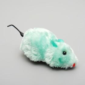 Мышь заводная, 8,5 см, микс цветов