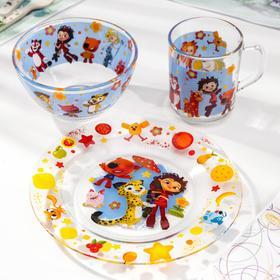 Набор посуды детский «Мульт», 3 предмета