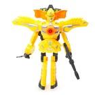 Робот «Бластер», трансформируется в робота, стреляет мягкими пулями, цвет жёлтый - фото 105503333