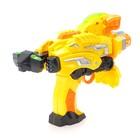 Робот «Бластер», трансформируется в робота, стреляет мягкими пулями, цвет жёлтый - фото 105503337