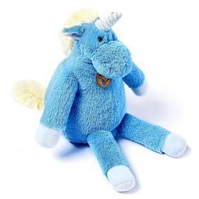 Мягкая игрушка «Единорог», 28 см, длинноногий, цвет голубой