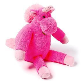 Мягкая игрушка «Единорог», 28 см, длинноногий, цвет цикламеновый