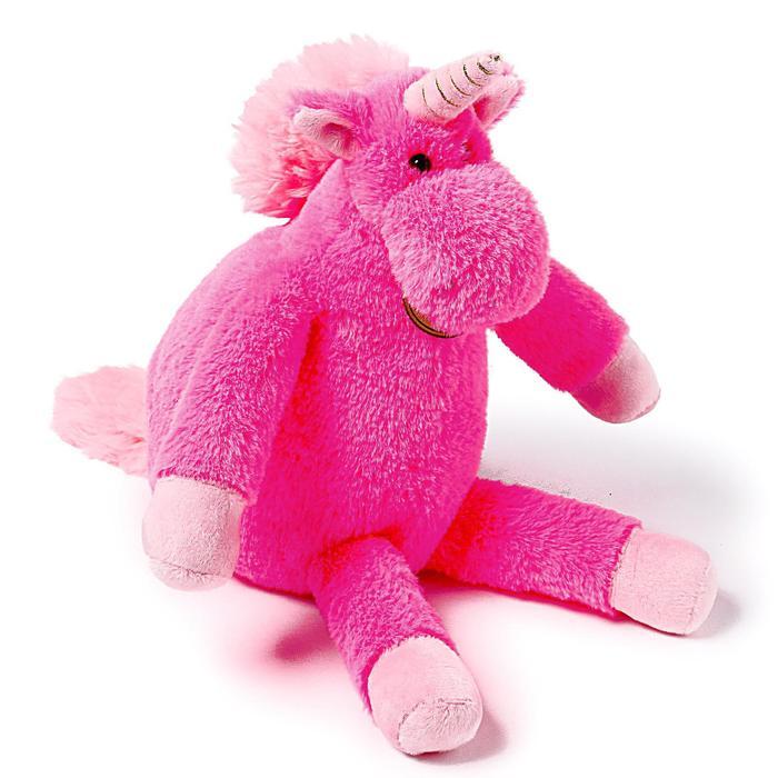 Мягкая игрушка «Единорог», 28 см, длинноногий, цвет цикламеновый - фото 4471095