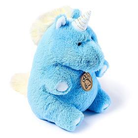 Мягкая игрушка «Единорог», 22 см, цвет голубой
