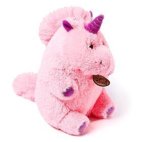 Мягкая игрушка «Единорог», 22 см, цвет розовый