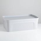 Ящик для хранения «Юнит» 17 л, цвет серый