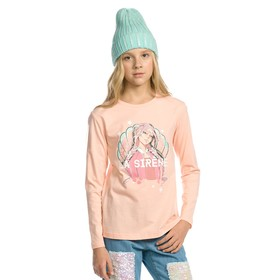 Джемпер для девочек, рост 116 см, цвет персиковый