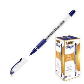 Ручка гелевая, синяя, BIC Gel-ocity Stic