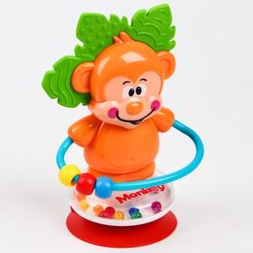 Развивающая игрушка «Обезьянка», на  присоске