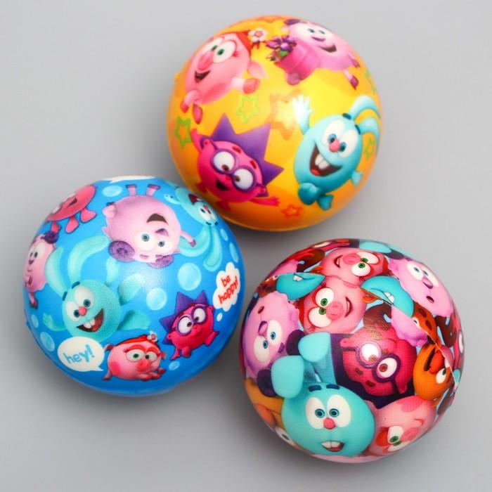 "Мягкий мяч СМЕШАРИКИ ""Друзья"" 6 см, микс"