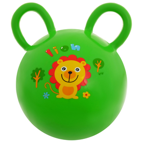 Мяч детский с ушками, d=15 см, 80 г, цвета МИКС