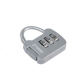 Замок навесной кодовый TUNDRA ZK001, серый