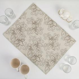 {{photo.Alt || photo.Description || 'Салфетка для сушки посуды Доляна «Орхидеи», 38×50 см, микрофибра, цвет серый'}}