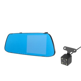 Car DVR two cameras, HD 1080P resolution, TFT 5.0, 170°viewing angle